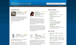 webfictionguide.com - web fiction guide  free online novels, story collections, reviews