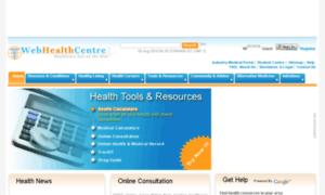 Webhealthcentre.com thumbnail