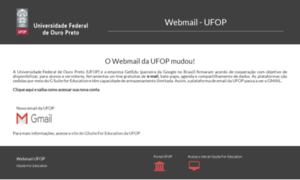 Webmail.ufop.br thumbnail