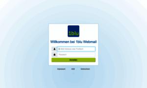 Webmailer.1blu.de thumbnail