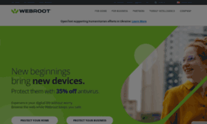 Webroot.com thumbnail