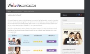 Websdecontactos.es thumbnail