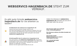 Webservice-hagenbach.de thumbnail
