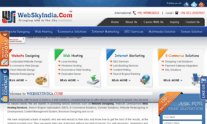 Webskyindia.com thumbnail