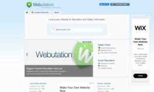 Webutation.net thumbnail