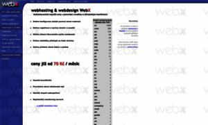 Webx.cz thumbnail