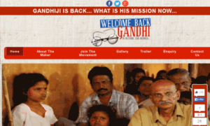Welcomebackgandhi.in thumbnail