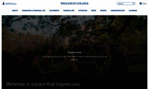 Wellesley.edu thumbnail