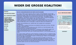 Wider-die-grosse-koalition.de thumbnail