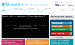 Windows8center.sourceforge.net thumbnail