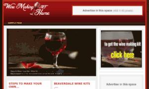 Winemakingathome.org thumbnail