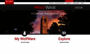 Wolfware.ncsu.edu thumbnail