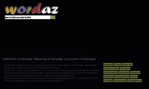 Wordaz.com thumbnail