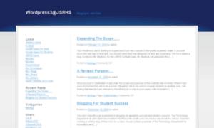 Wordpress3.jsrhs.net thumbnail