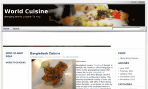 Worldcuisine.org.uk thumbnail