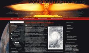 Worlddestruction.net thumbnail