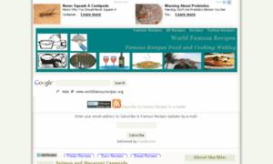 Worldfamousrecipes.org thumbnail