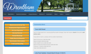 Wrentham.ma.us thumbnail