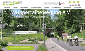 Wuppertalbewegung.de thumbnail