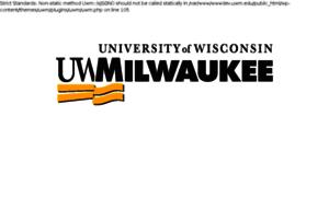 Wwwdev.uwm.edu thumbnail