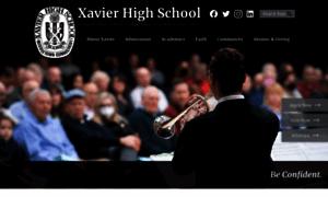 Xavierhighschool.org thumbnail