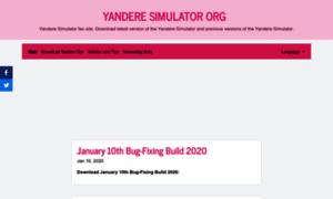 Yandere-simulator.org thumbnail