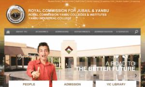 Yic.edu.sa thumbnail