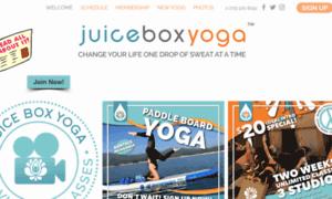 Yogajuicebox.com thumbnail