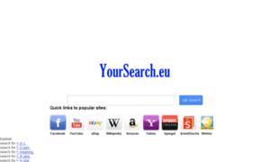 Yoursearch.eu thumbnail