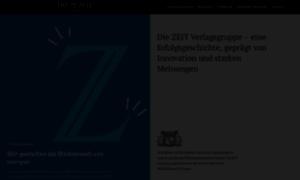 Zeit-verlagsgruppe.de thumbnail
