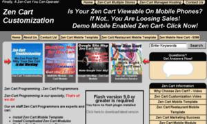 Zencart-customization.info thumbnail