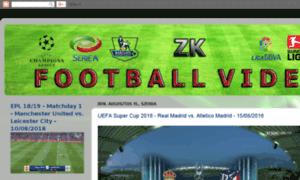 Zkfootballvideos.blogspot.com.es thumbnail