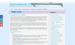 Zonnebankinfo.be thumbnail