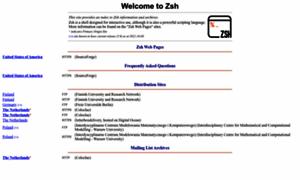 Zsh.org thumbnail