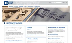 Zv.uni-wuerzburg.de thumbnail