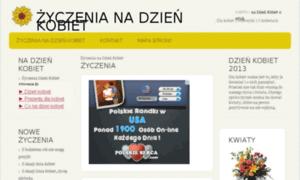 Zyczeniadzienkobiet.info.pl thumbnail